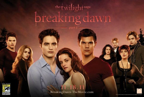 Nouvelle Affiche de Breaking Dawn.