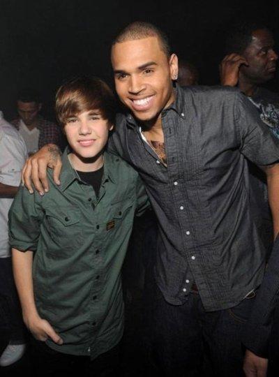 JB et Chris Brown : le duo !