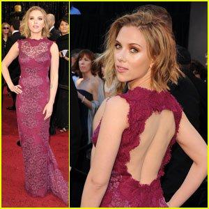 Scarlett Johansson ux Oscars 2011