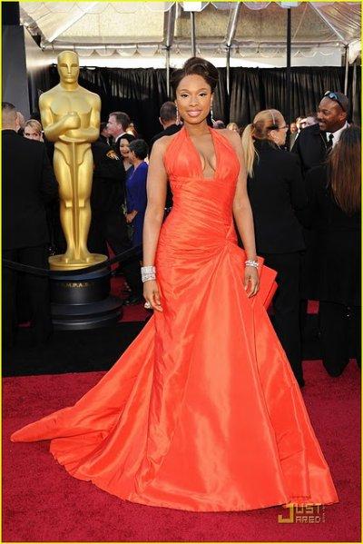 Jennifer Houdson aux Oscars 2011