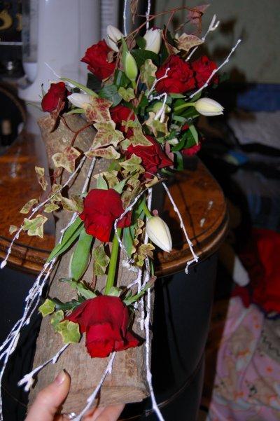 Composition rose tulipe du 20 Janvier