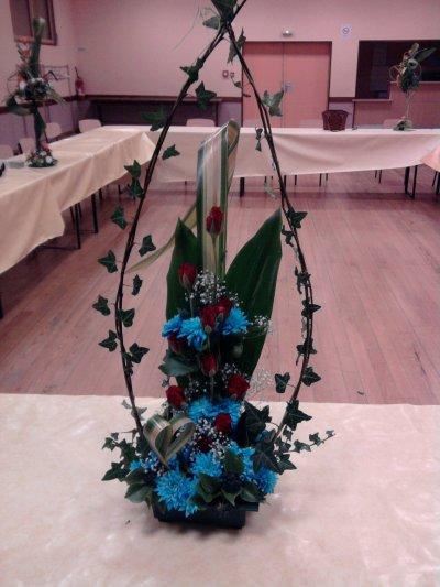 composition de l'atelier floral du 15 02 2012