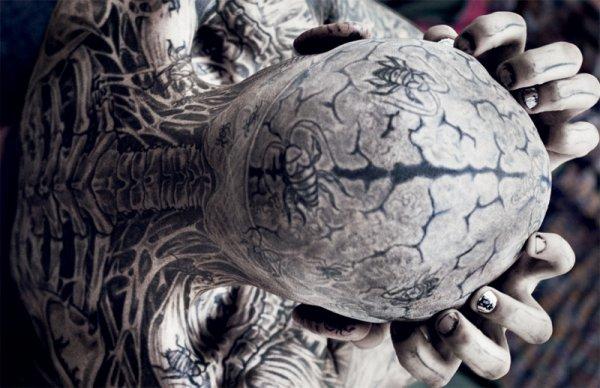 Rick Genest Alias Zombie Boy Un Amour De Tatouage