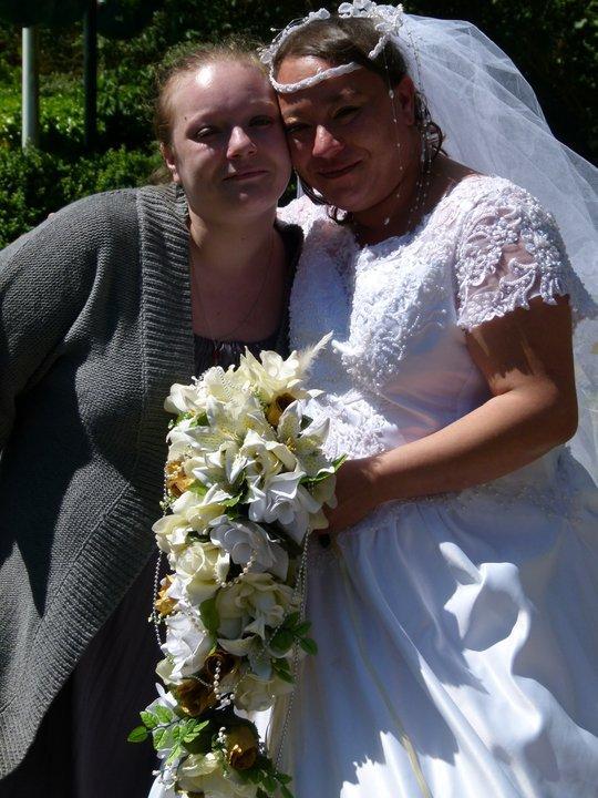 MA SOEUR & MOI LE JOUR DE MON MARIAGE