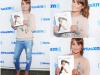 """LEA MICHELE fait la promotion de son livre """"BRUNETTE AMBITION"""" radio SIRIUS XM"""