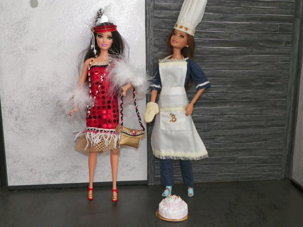 Tenue pour mes Barbie