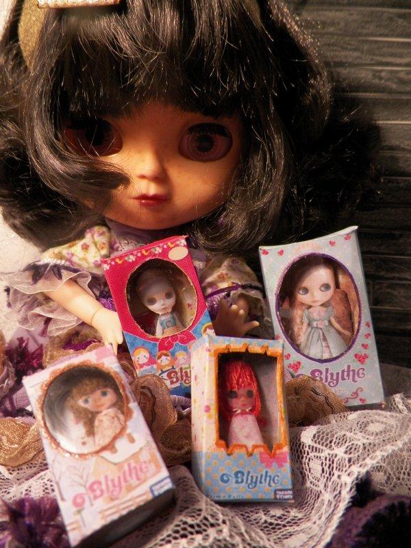 Cadeaux de poupées Blythe pour ma poupée Blythe.....