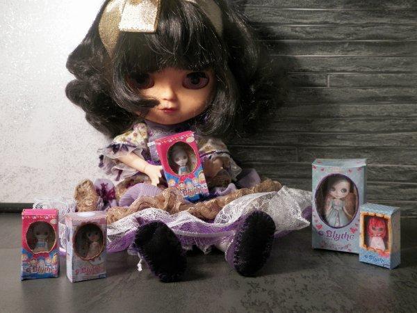 Cadeaux de poupées Blythe pour ma poupée Blythe......