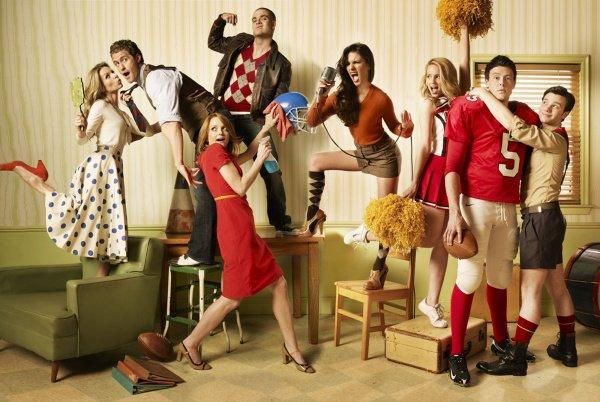"""Par definition , Glee , signifie s'ouvrir au bonheur ""    #GleekPower"