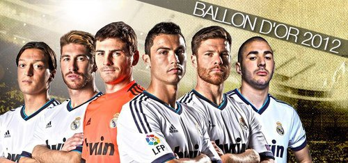 Le ballon d'or pour casillas