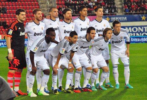 Le Real Madrid de iker casillas