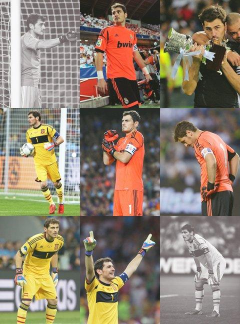 Casillas numéro 1 des gardien de but