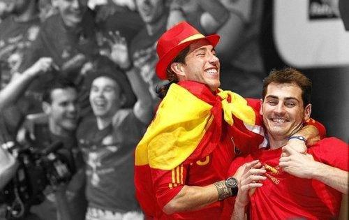 Sergio Ramos & Iker Casillas