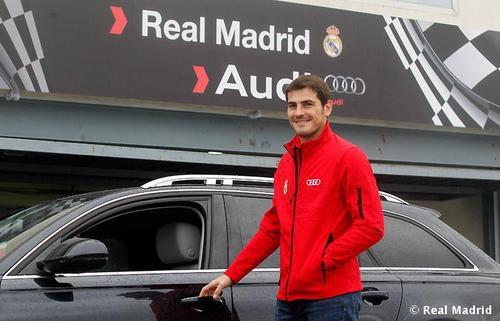 Iker Casillas / audi événement