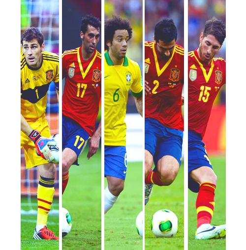 Brasil vs España