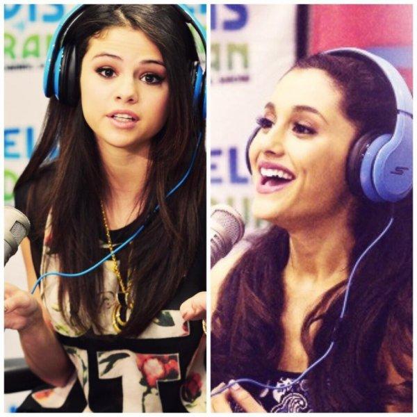 Selena vs Ariana