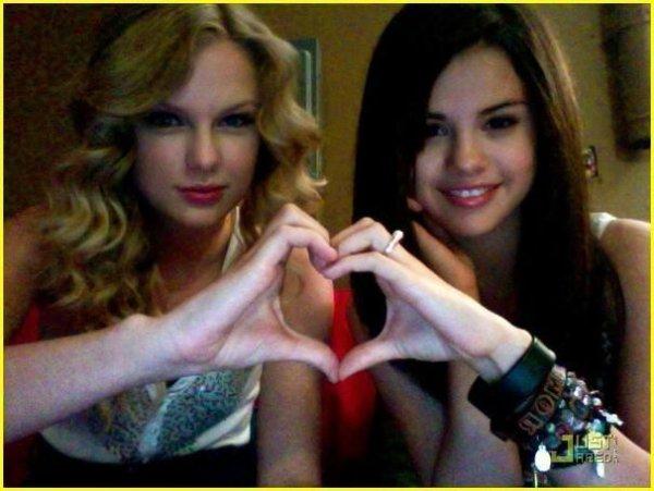 Taylor soutien Selena