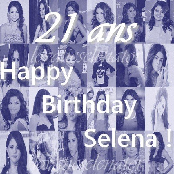 Joyeux Anniversaire Selena !! ♥