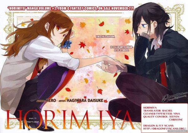 Horimiya - Manga