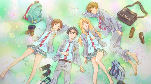Shigatsu wa Kimi no Uso (Your Lie in April) - Anime
