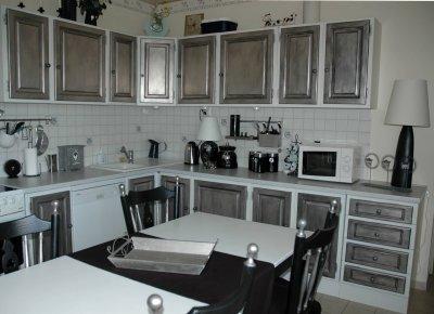 cuisine relook e suite amphora artisan meubles peints. Black Bedroom Furniture Sets. Home Design Ideas