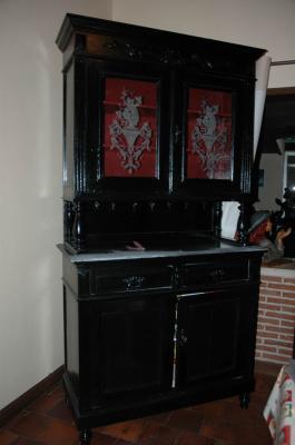 buffet 2 corps style henri ii avant amphora artisan. Black Bedroom Furniture Sets. Home Design Ideas