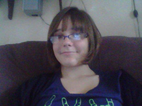 ma nouvelle coupe de cheveux