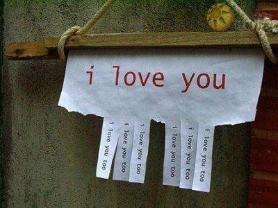 Je t'aime...