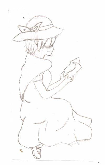 dessin n°2 rin kagamine prisonnier