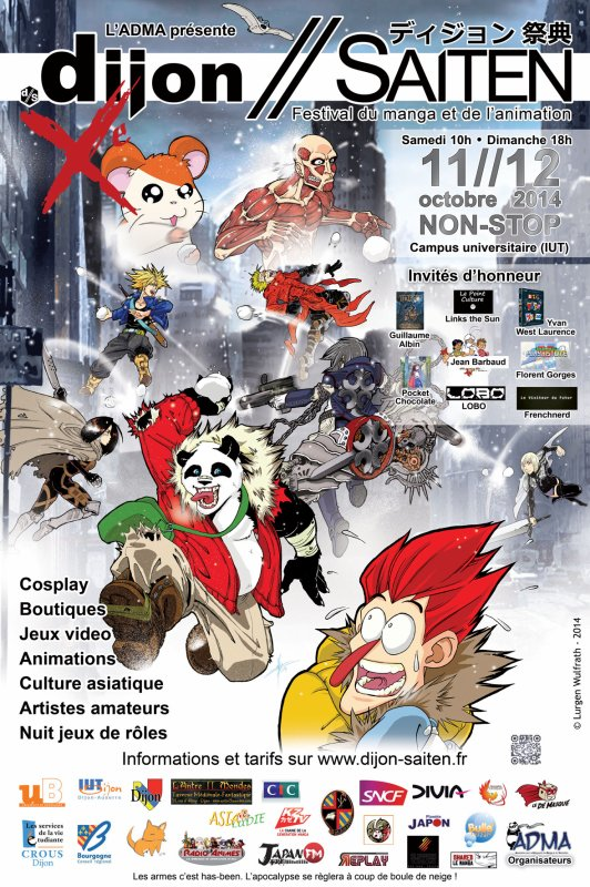 Festival du manga et de l'animation!!!!!!