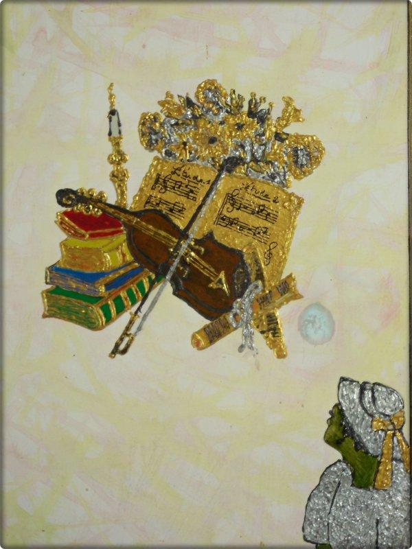 Artiste Peintre Jany Delaunay  mon lieu de Vie mes  Créations