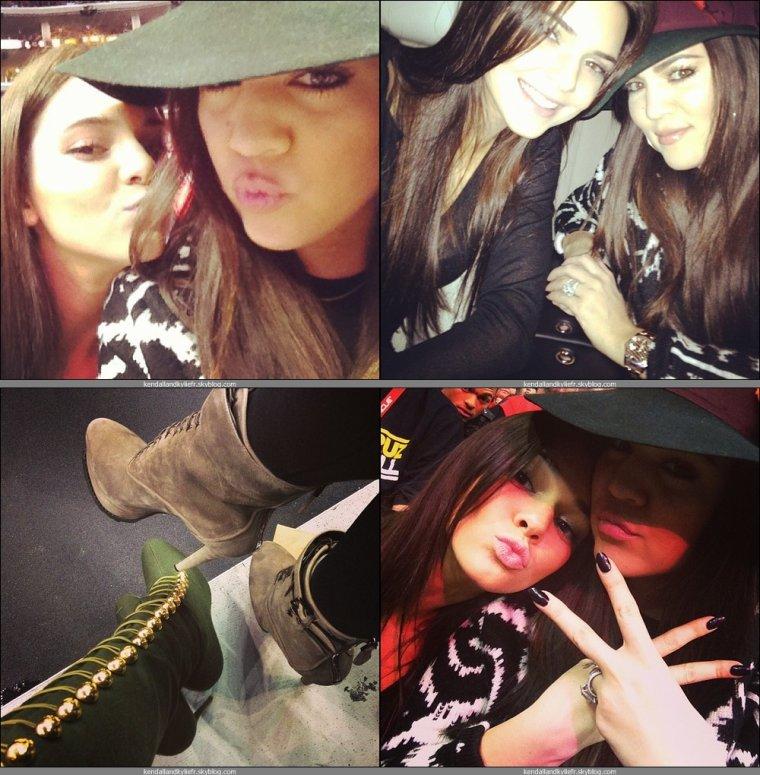 Kendall & Khloé - Clipper Game - 5 Janvier 2013