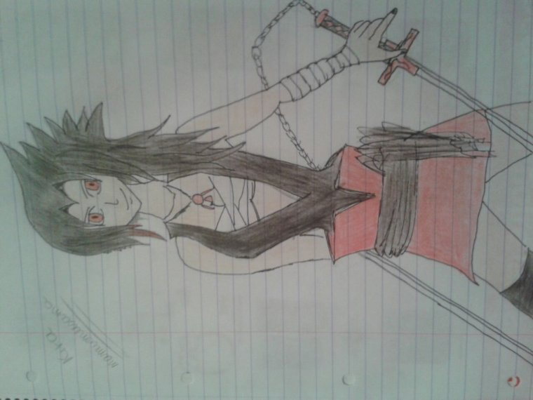 Kira mon personnage dans la fic Soul eater que j ecris avec miss-manga31