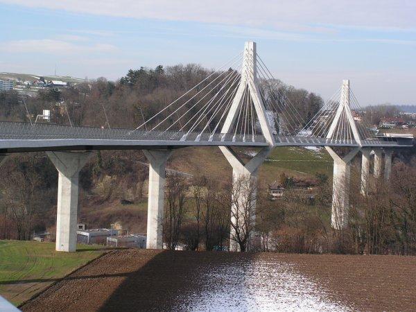 Le dernier pont de Fribourg