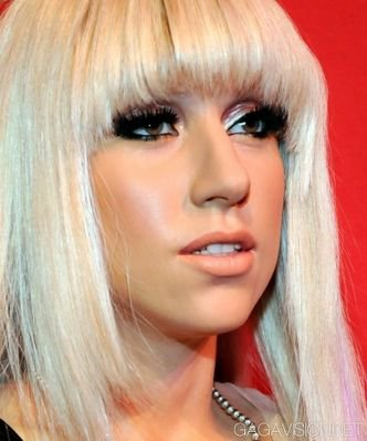 la statue de Gaga exposé à Las Vegas
