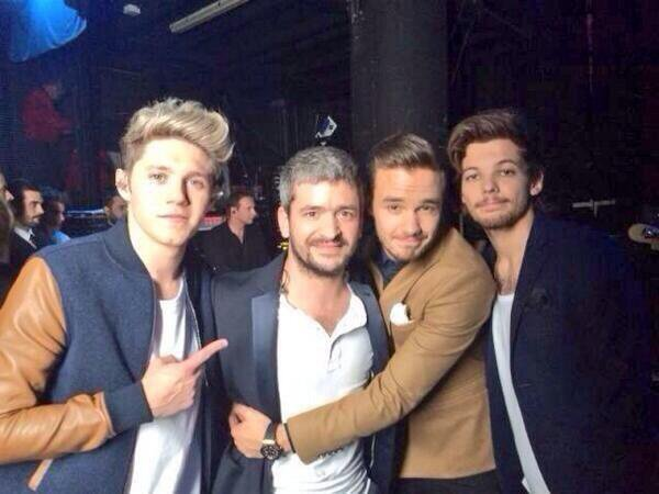 Niall, Grégoire, Liam et Louis