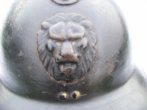 Belgian Model 31 Adrian helmet