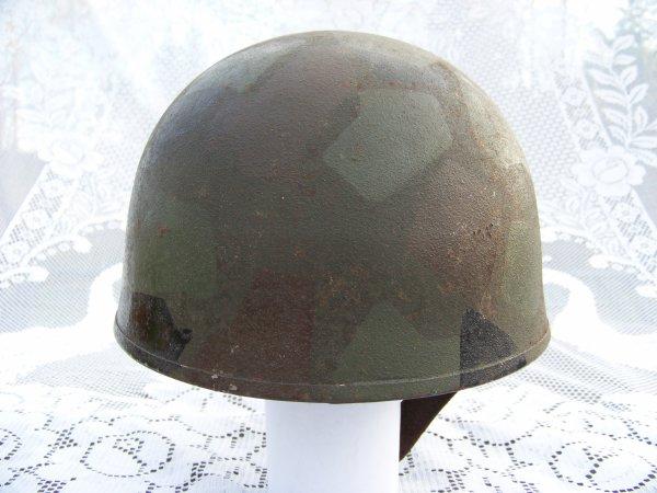 British RAC helmet, origin unknown