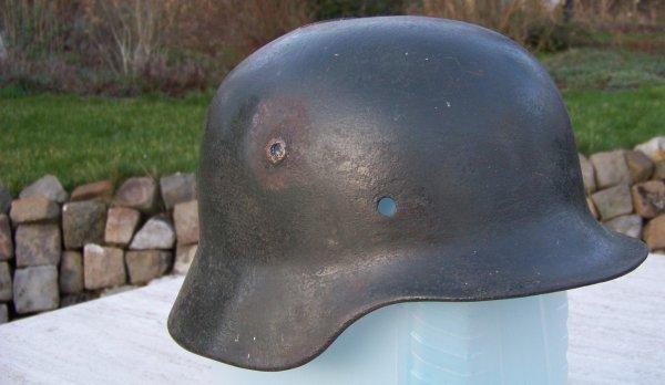 Restoration of a German M40 helmet Part 1