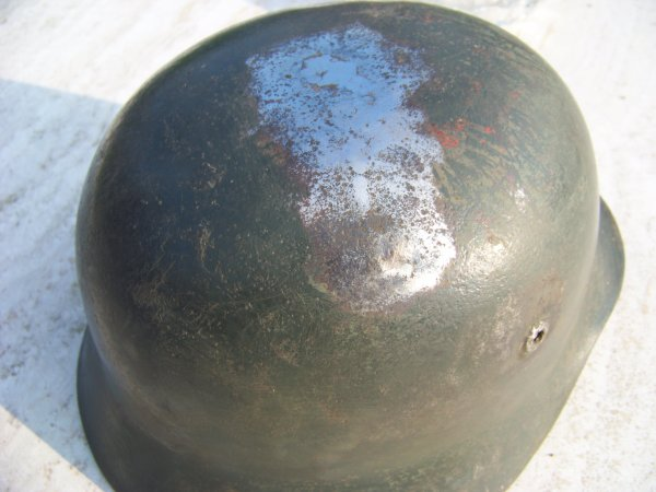 Restoration of a German M40 helmet Part 2