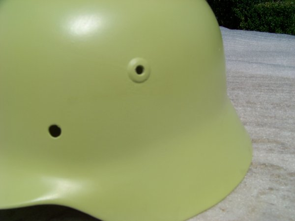Restoration of a German M40 helmet Part 4