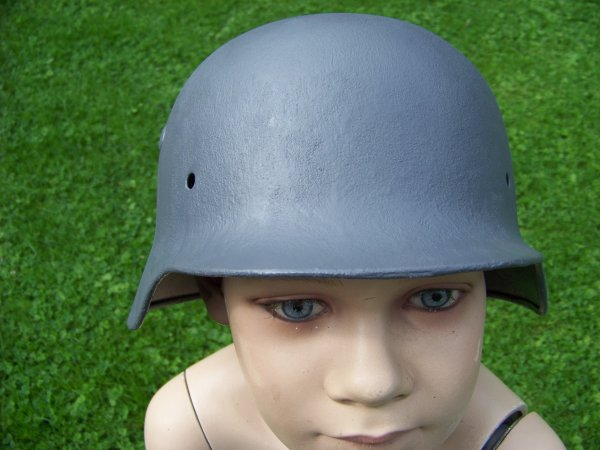 Restoration of a German M40 helmet Part 6