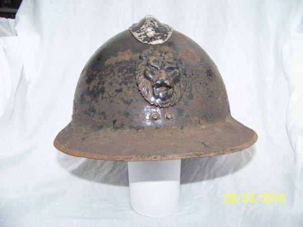 Belgian Gendarmerie / Rijkswacht M31 Helmet Restoration Part