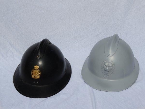 Belgian Gendarmerie / Rijkswacht M31 Helmet Restoration Part 2