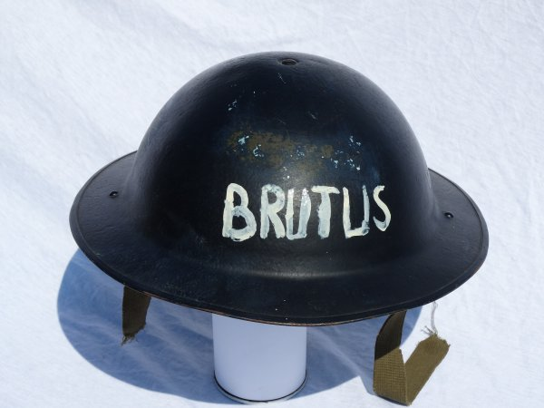 Belgian Helmet model 49 used by Civil Defence