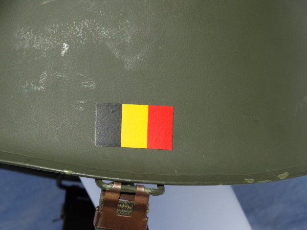 2nd Belgian M1 Army helmet