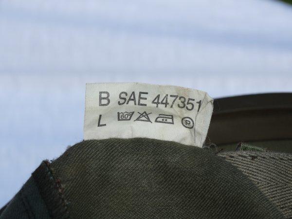 Belgian Helmet Model 95 or Schuberth 826 continued