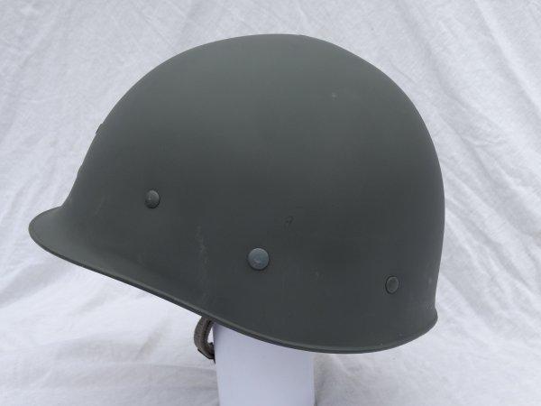Danish Staalhjelm model 48 (Hjelm 1948) Civilforsvaret type 2 Liner