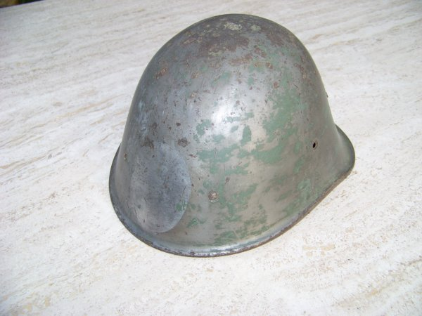 Dutch M34 Helmet Restoration part 1