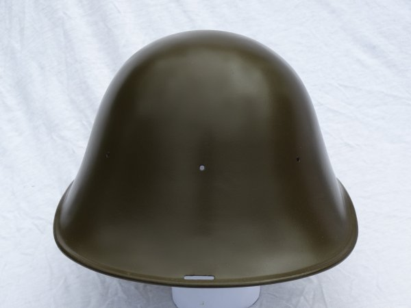 Dutch M34 Helmet Restoration part 3